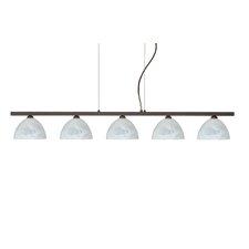 Brella 5 Light Linear Pendant