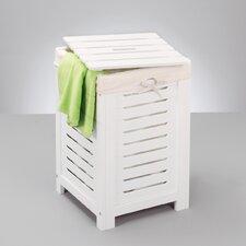 Wäschetruhe in Weiß
