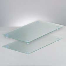 2-tlg. Schneideplatten Set für 4-Plattenkochfeld