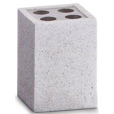 "7cm x 7cm Zahnbürstenhalter ""Stone"""