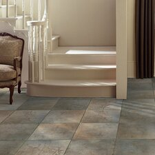 "<strong>Mohawk Flooring</strong> Quarry Stone 12"" x 3"" Bullnose Tile Trim in Forest"
