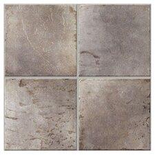Slate Porcelain Glazed Floor Tile in Slate