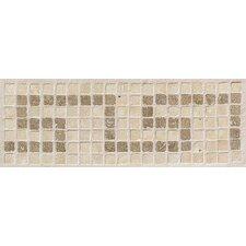 """Artistic Accent Statements 12"""" x 4"""" Greek Key Decorative Border in Sand/Walnut"""