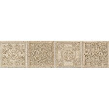 "Natural Bella Rocca 12"" x 3"" Universal Decorative Border"