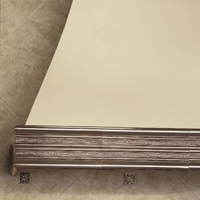 "Accent Statements Metal 12"" x 3"" Laurel Chair Rail Tile Trim in Vintage Bronze"