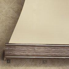 "Accent Statements Metal 12"" x 3"" Laurel Chair Rail Tile Trim in Vintage Bronze"