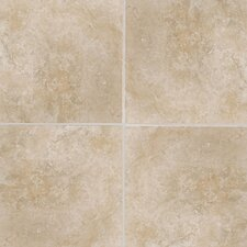 "Casa Loma 13"" x 13"" Floor Tile in Gold Silk"