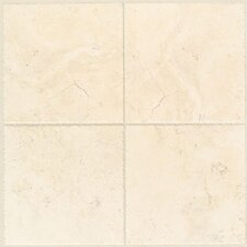 Natural Bucaro Porcelain Glazed Floor Tile in Bianco