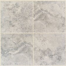 Natural Bucaro Porcelain Glazed Floor Tile in Grigio and Blu
