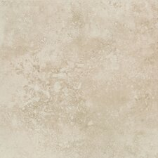 "Mirador 20"" x 20"" Floor Tile in Ivory Cream"