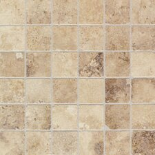 """Natural Monticino 2"""" x 2"""" Glazed Mosaic in Blend"""