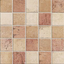 "Slate Quarry Stone 2"" x 2"" Decorative Mosaic Blend in Light"
