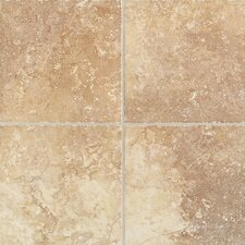 "Orleans 20"" x 20"" Floor Tile in Sunset Gold"