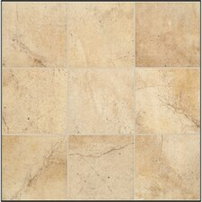 "Sardara 18"" x 18"" Floor Tile in Cathedral Beige"