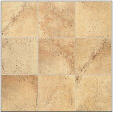 "<strong>Mohawk Flooring</strong> Sardara 6"" x 6"" Floor Tile in Piazza Gold"