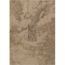 "Natural Pavin Stone 14"" x 10"" Decorative Accent Wall Tile in Brown Suede"