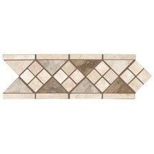 "Natural Pavin Stone 12"" x 4"" Universal Decorative Border"