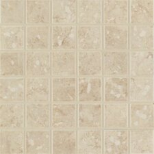 Steppington Mosaic Floor Tile in Baronial Beige