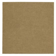 "Ribbed 18"" x 18"" Carpet Tile in Putty"
