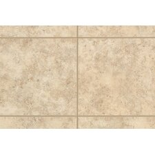 "Natural Bella Rocca 9"" x 3"" Bullnose Tile Trim in Venetian White"