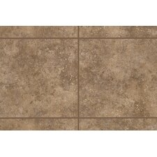 "Bella Rocca 6"" x 6"" Bullnose Corner Tile Trim in Tuscan Brown"