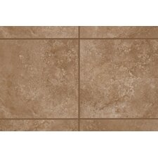 "Natural Casa Loma 13"" x 3"" Bullnose Tile Trim in Brown Velvet"