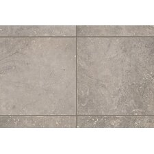 "Rustic Egyptian Stone 6.5"" x 6.5"" Bullnose Corner Tile Trim in Nile Gray"