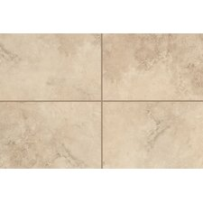"Natural Mirador 13"" x 3"" Bullnose Tile Trim in Cameo Beige"
