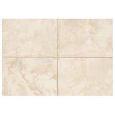 "Natural Pavin Stone 2"" x 2"" Mosaic Bullnose Corner Tile Trim in White Linen"