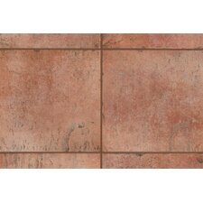 "<strong>Mohawk Flooring</strong> Quarry Stone 12"" x 3"" Bullnose Tile Trim in Terra"