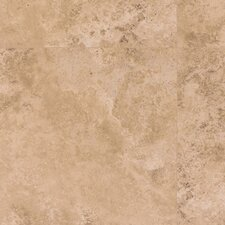 <strong>Mohawk Flooring</strong> Earthwork Palazzo 8mm Cross Cut Travertine Laminate in Light Nocino