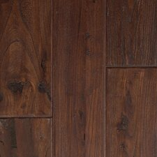 "Artiquity Zanzibar 5"" Engineered Elm Walnut Flooring in Antique Walnut"