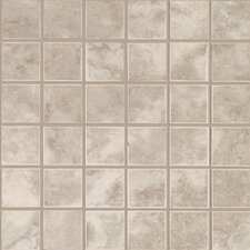 Pavin Stone Mosaic Tile in Gray Flannel