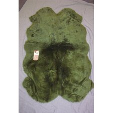 <strong>Bowron Sheepskin Rugs</strong> Lichen Gold Star Rug