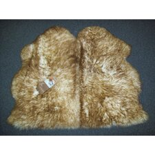 <strong>Bowron Sheepskin Rugs</strong> Long Wool Gold Star Octo