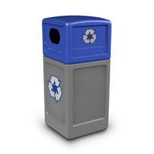 Green Zone 42 Gallon Recycling Bin
