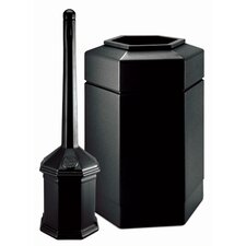 Site Saver Trash and Cigarette Receptacle Set