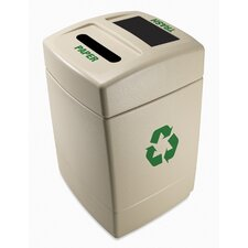 Green Zone 55 Gallon Multi Compartment Recycling Bin