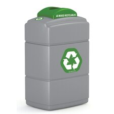 <strong>Commercial Zone</strong> Green Zone 40 Gallon Recycling Bin