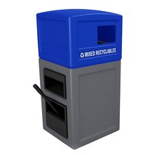 Islander Series 10 Gallon Multi Compartment Recycling Bin