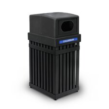 ArchTec Parkview 25 Gallon Recycling Receptacle