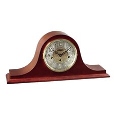 <strong>Hermle Black Forest Clocks</strong> Tambour Clock Dial in Cherry