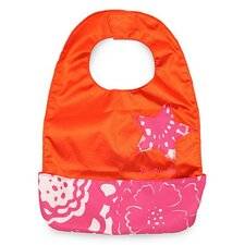 <strong>Ju Ju Be</strong> Be Neat Bib in Fuchsia Blossoms