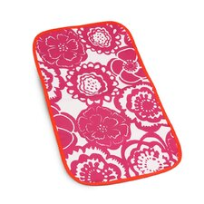 <strong>Ju Ju Be</strong> Changing Pad Memory Foam in Fuchsia Blossoms