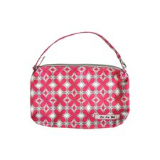 <strong>Ju Ju Be</strong> Be Quick Pouch Diaper Bag in Pink Pinwheels