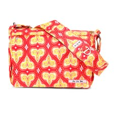 <strong>Ju Ju Be</strong> Be All Messenger Diaper Bag in Coral Kiss