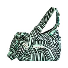 <strong>Ju Ju Be</strong> Hobo Be Messenger Diaper Bag in Mint Chip
