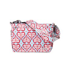 <strong>Ju Ju Be</strong> Be All Messenger Diaper Bag in Sweet Hearts
