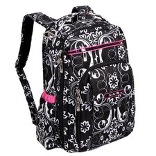 Be Right Back Backpack Diaper Bag in Shadow Waltz
