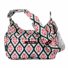 Hobo Be Messenger Diaper Bag in Dreamy Diamonds